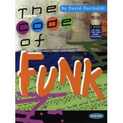 Garibaldi, David: The Code of Funk (+CD+DVD-ROM): for drumset