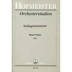 Wagner, Richard: Orchesterstudien f├╝r Schlaginstrumente Band 2