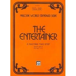 Joplin, Scott: The Entertainer : Einzelausgabe f├╝r Klavier (Akkordeon) mit B-Stimme