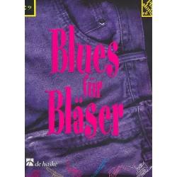 Blues für Bläser Band 4 (+CD) : Duette für C-Instrumente (Baßschlüssel)