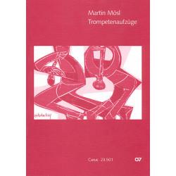 Mösl, Martin: Kurze und leichte Aufzüge : für Blechbläser und Orgel Partitur