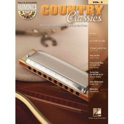 Country Classics (+CD) : for harmonica harmonica playalong vol.5