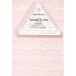 Beretti, Pietro (Auch Beretta): Sonate G-Dur : für Hackbrett und Cembalo