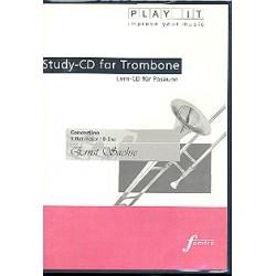 Sachse, Ernst: Concertino B-Dur für Posaune und Klavier : Playalong-CD