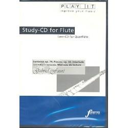 Fauré, Gabriel Urbain: Stücke für Flöte und Klavier Playalong-CD