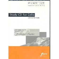 Küchler, Ferdinand: Concertino op.11 für Violoncello und Klavier : Playalong-CD