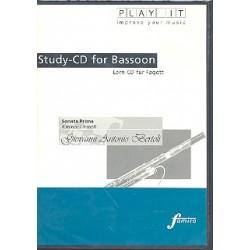 Bertoli, Giovanni Antonio: Sonata prima für Fagott und Cembalo : Playalong-CD