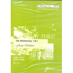 Schubert, Franz: Die Winterreise : 3 Playalong-CD's für hohe Stimme