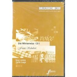 Schubert, Franz: Die Winterreise : 3 Playalong-CD's für tiefe Stimme
