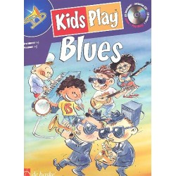 Kids play Blues (+CD) : f├╝r Posaune im Bassschl├╝ssel