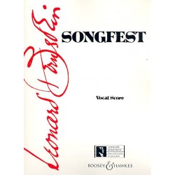 Bernstein, Leonard: Songfest : A Cycle of American Poems for 6 Singers and Orchestra vocal score