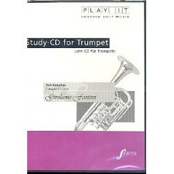Fantini, Girolamo: 10 Sonaten C-Dur für Trompete und Cembalo Playalong-CD