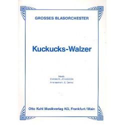 Jonasson, Emanuel: Kuckuckswalzer : f├╝r Blasorchester