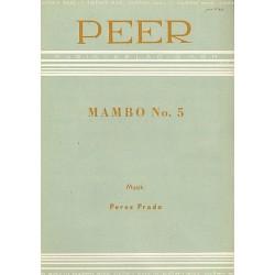 Perez Prado, Damaso: Mambo no.5: Einzelausgabe