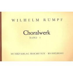 Rumpf, Wilhelm: Das Choralwerk Band 1 : für Orgel