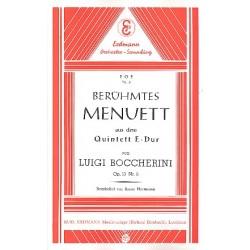 Boccherini, Luigi: Ber├╝hmtes Menuett : f├╝r Salonorchester