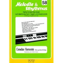 Comedian Harmonists: Ihre grossen Erfolge für E-Orgel / Keyboard