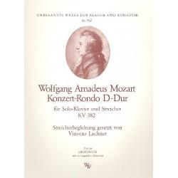 Mozart, Wolfgang Amadeus: Konzert-Rondo D-Dur KV382 : f├╝r Klavier und Streicher Partitur und Stimmen (1-1-1-1-1)