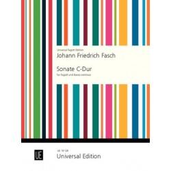 Fasch, Johann Friedrich: Sonate C-Dur für Fagott und Bc