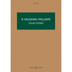 Vaughan Williams, Ralph: 4 Hymns : for tenor, viola and string orchestra study score