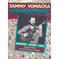 Vomacka, Sammy: Gitarrenbuch : Ragtime, Blues, Jazz
