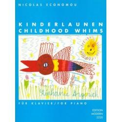 Economou, Nicolas: Kinderlaunen : für Klavier