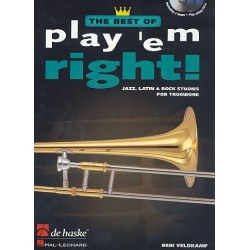 Veldkamp, Eric: The Best of Play 'em right (+2 CD's) : for trombone