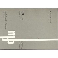 Glière, Reinhold: Oktett op.5 für 4 Violinen, 2 Violen und 2 Violoncelli Studienpartitur