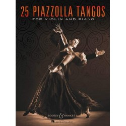 Piazzolla, Astor: 25 Tangos: for violin and piano
