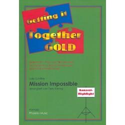 Schifrin, Lalo: Mission Impossible : f├╝r variable Besetzung (leicht bis mittelschwer) Partitur und Stimmen