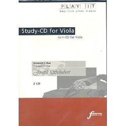 Schubert, Joseph: Konzert C-Dur für Viola und Klavier : 2 Playalong-CD's