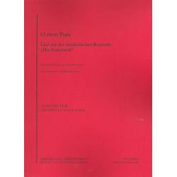 Burkhard, Paul: O mein Papa: für Trompete und Klavier Verlagskopie