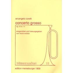 Corelli, Arcangelo: Concerto Grosso op.6,11 : für 2 Trompeten, Horn, Posaune und Tuba