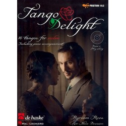 Mees, Myriam: Tango Delight (+CD) : für Violine und Klavier