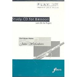 Weissenborn, Julius: 5 kleine Stücke für Fagott und Klavier : Playalong-CD