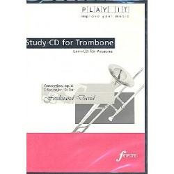 David, Ferdinand: Concertino Es-Dur op.4 für Posaune und Klavier : Playalong-CD