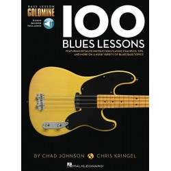 Kringel, Chris: 100 Blues Lessons (+audio access): for bass guitar/tab