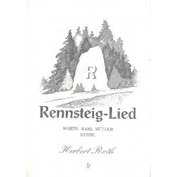 Roth, Herbert: Rennsteiglied : Einzelausgabe Gesang und Klavier