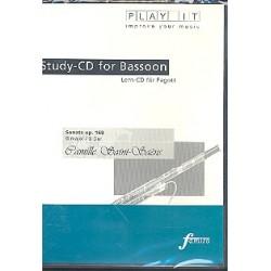 Saint-Saens, Camille: Sonate G-Dur op.168 : für Fagott und Klavier Playalong - CD