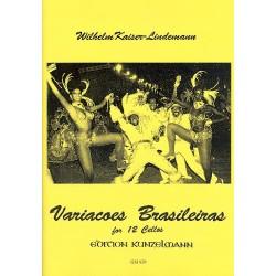 Kaiser-Lindemann, Wilhelm: Variacoes brasileiras für 12 Violoncelli Partitur und Stimmen