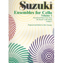 Suzuki Cello School vol.1 : cello ensemble, 2 parts