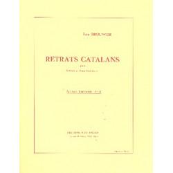 Brouwer, Leo: Retrats Catalans 1983 : pour guitare et petit orchestre Studienpartitur