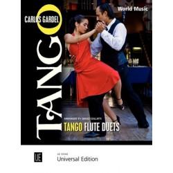 Gardel, Carlos: Tango Flute Duets : für 2 Flöten Spielpartitur