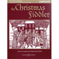 The Christmas Fiddler for violin and piano (violin 2, easy violin and guitar ad lib) score and part (complete edition)