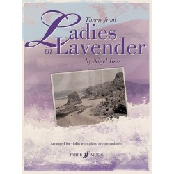 Hess, Nigel: Ladies in Lavender : Theme for violin and piano