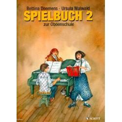 Dömens, Bettina: Spielbuch Band 2 zur Oboenschule : für f1-3 Oboen und Klavier (+PDF Klavierstimme zum Ausdrucken)
