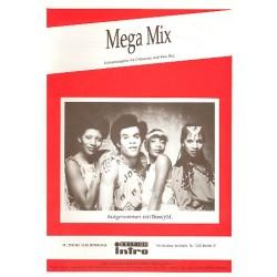 Farian, Frank: Boney M Mega Mix : Potpourri f├╝r Gesang und Klavier