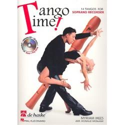 Mees, Myriam: Tango Time (+CD) : für Sopranblockflöte