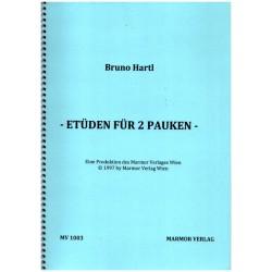 Hartl, Bruno: Etüden : für 2 Pauken