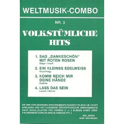 Weltmusik-Combo Nr.3 : Volkst├╝mliche Hits, 4 Stimmen